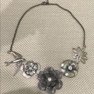 Disney Flower & Bird necklace